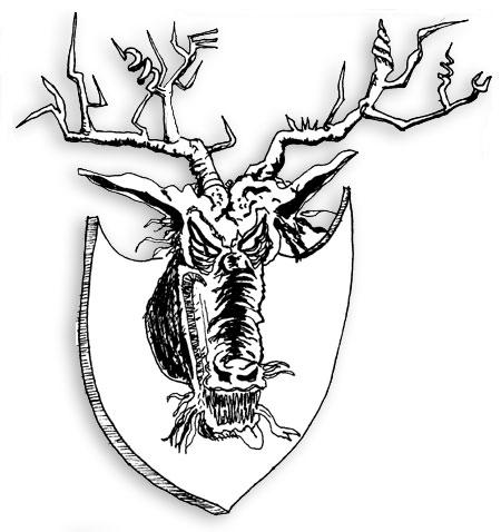 Deerhead monster
