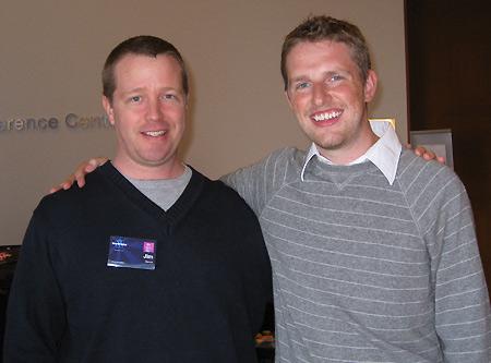 Me with Matt Mullenweg