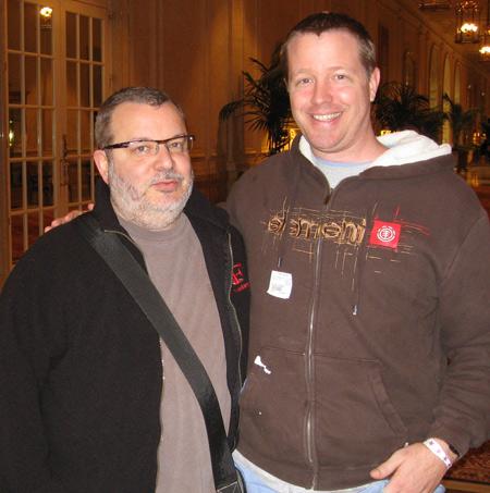 Jeffrey Zeldman and me