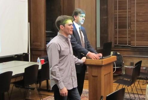 Mike Brenner and Reinhard Stebner