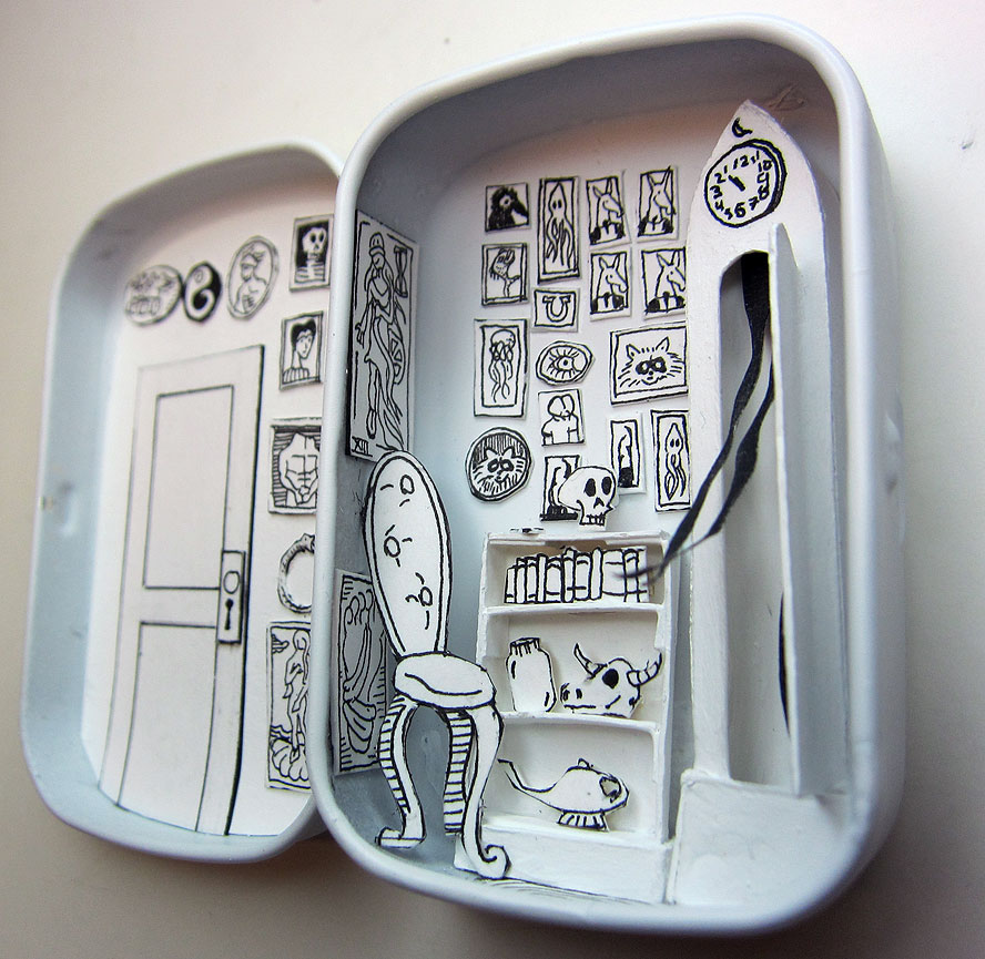 The Waiting Room Altoids tin