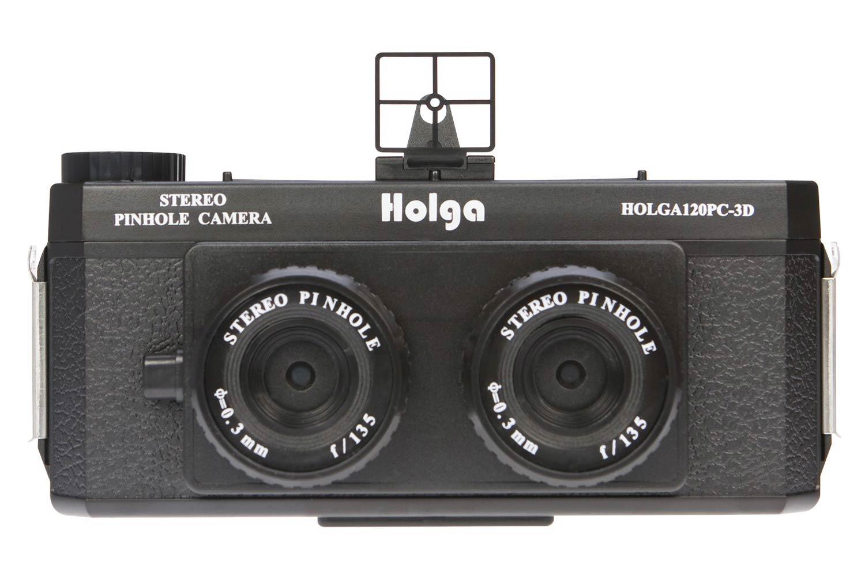 Holga Stereo Pinhole Camera