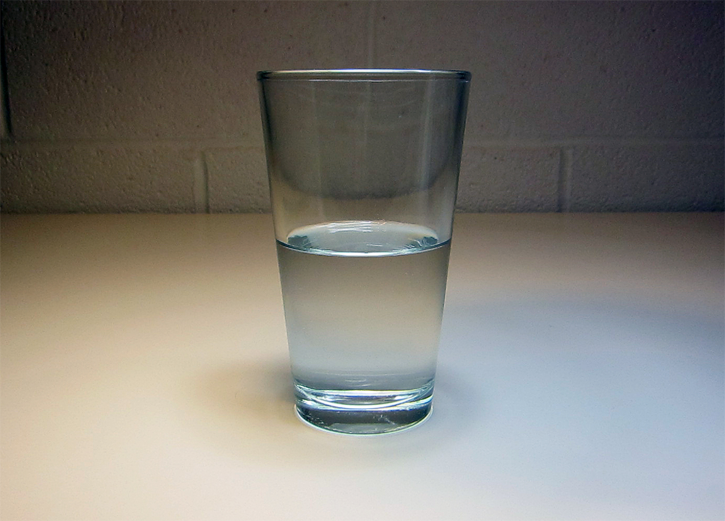 Glass Half _______