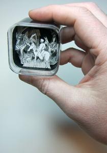 Four Horsemen in iPod shuffle case