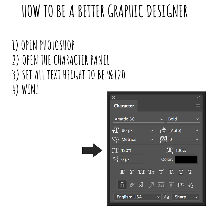 How to win at graphic design