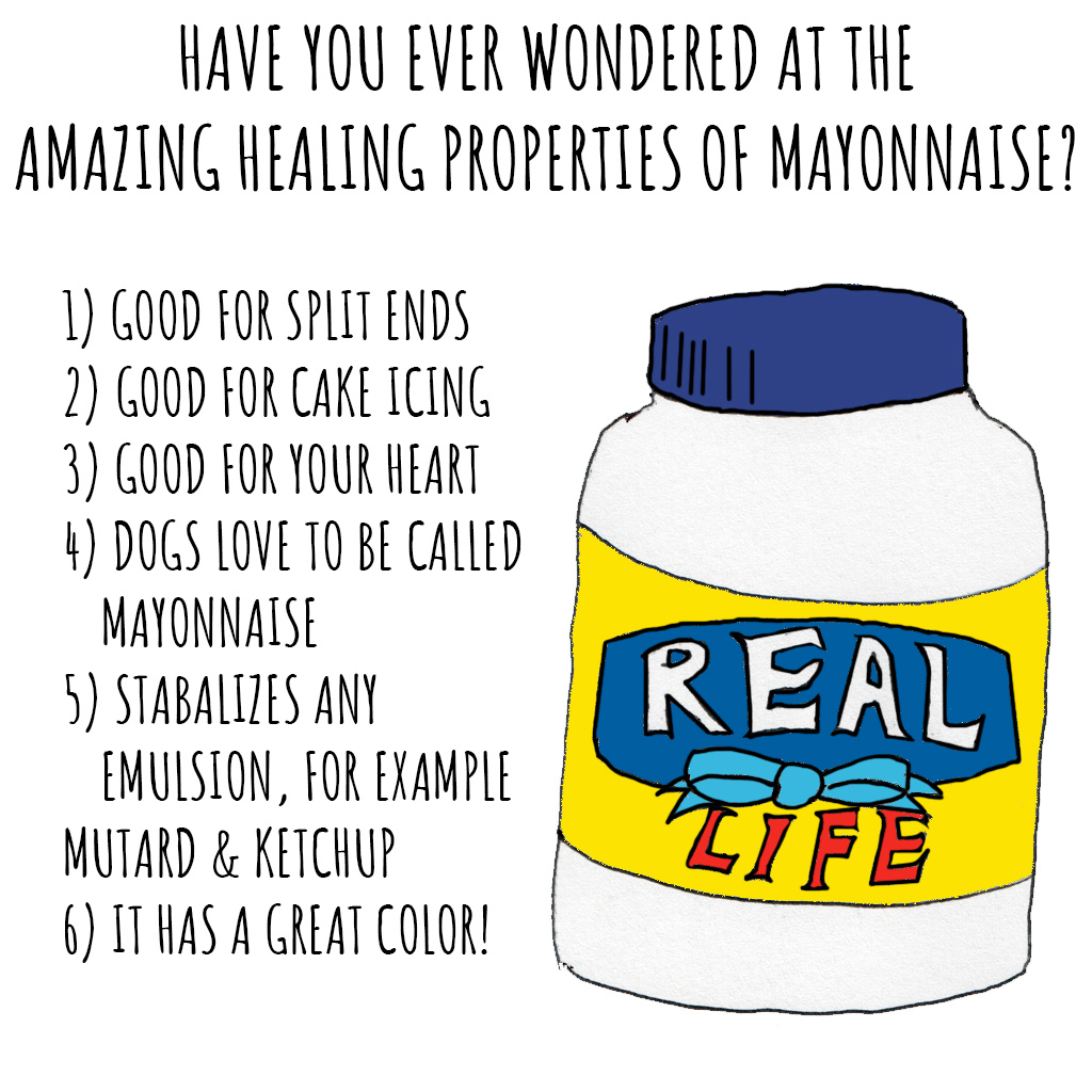 Healing properties of Mayo