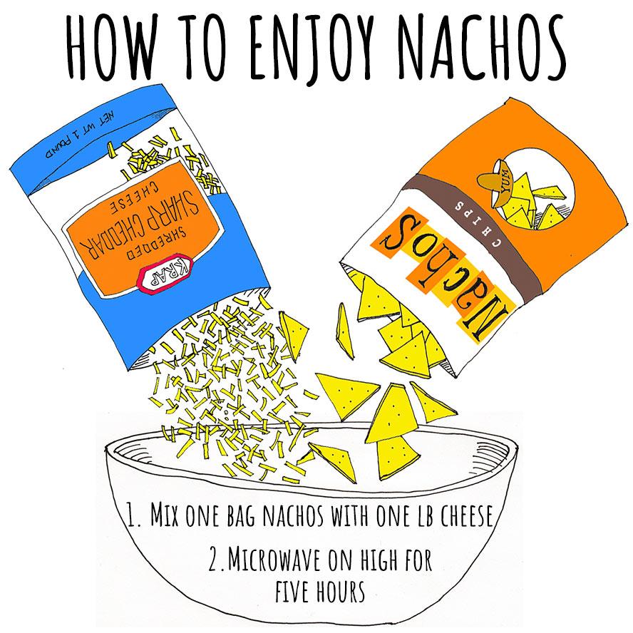 How to enjoy nachos at home