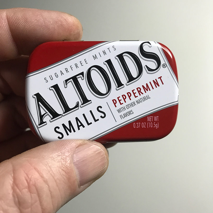 Altoids smalls tin