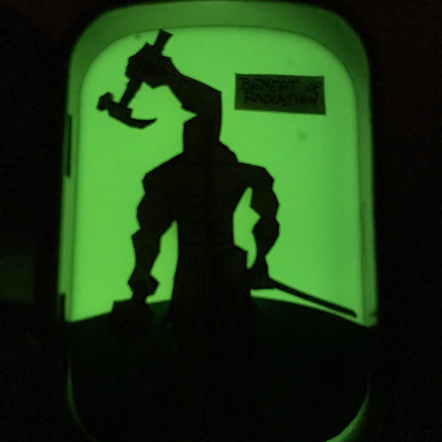Arms and Hammers Glowing