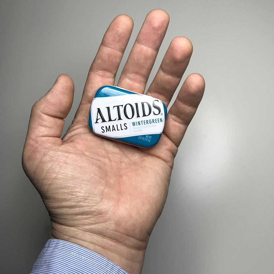 Closed Altoids Smalls