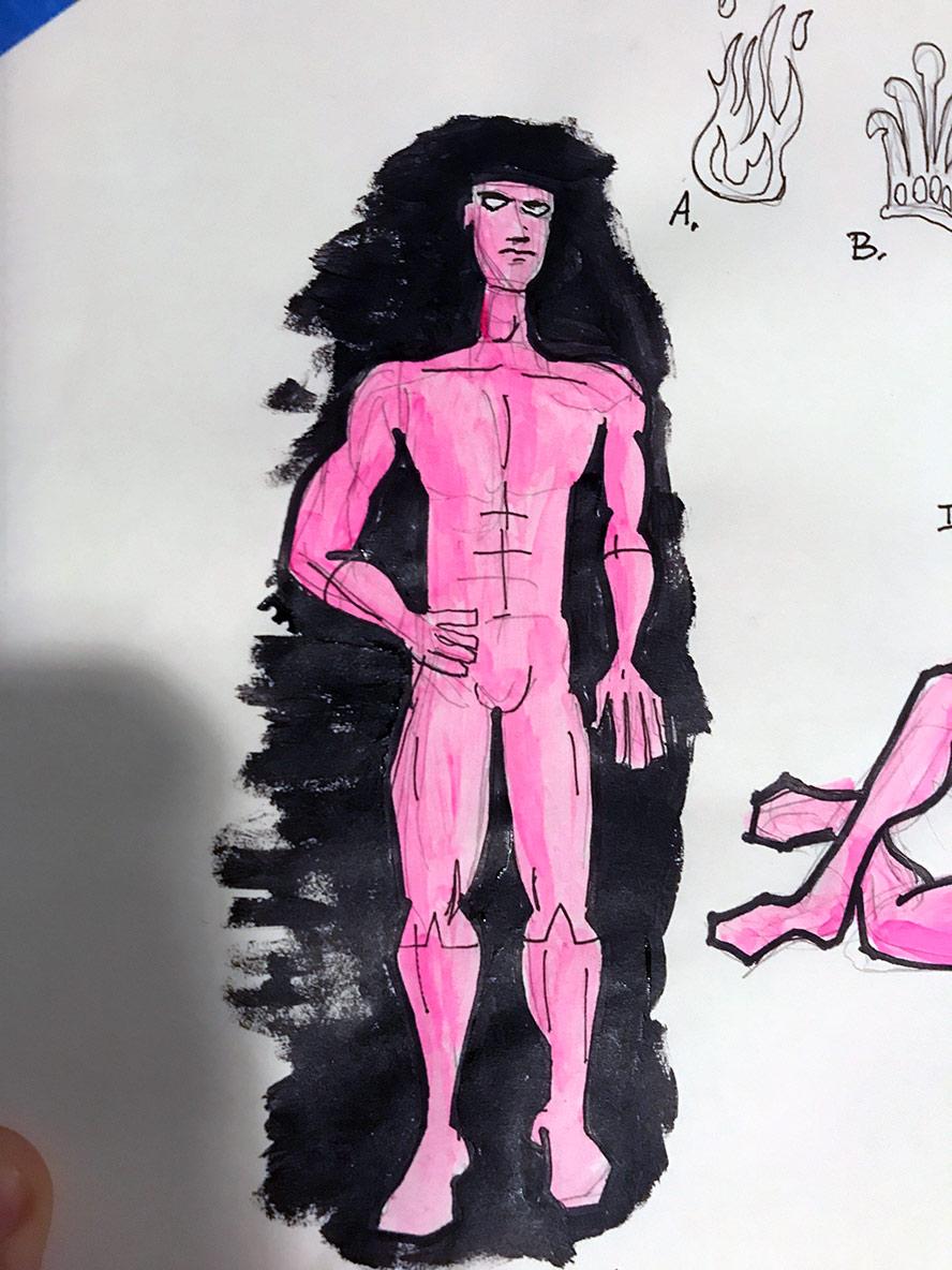 """4"""" Thumbnail drawing"""