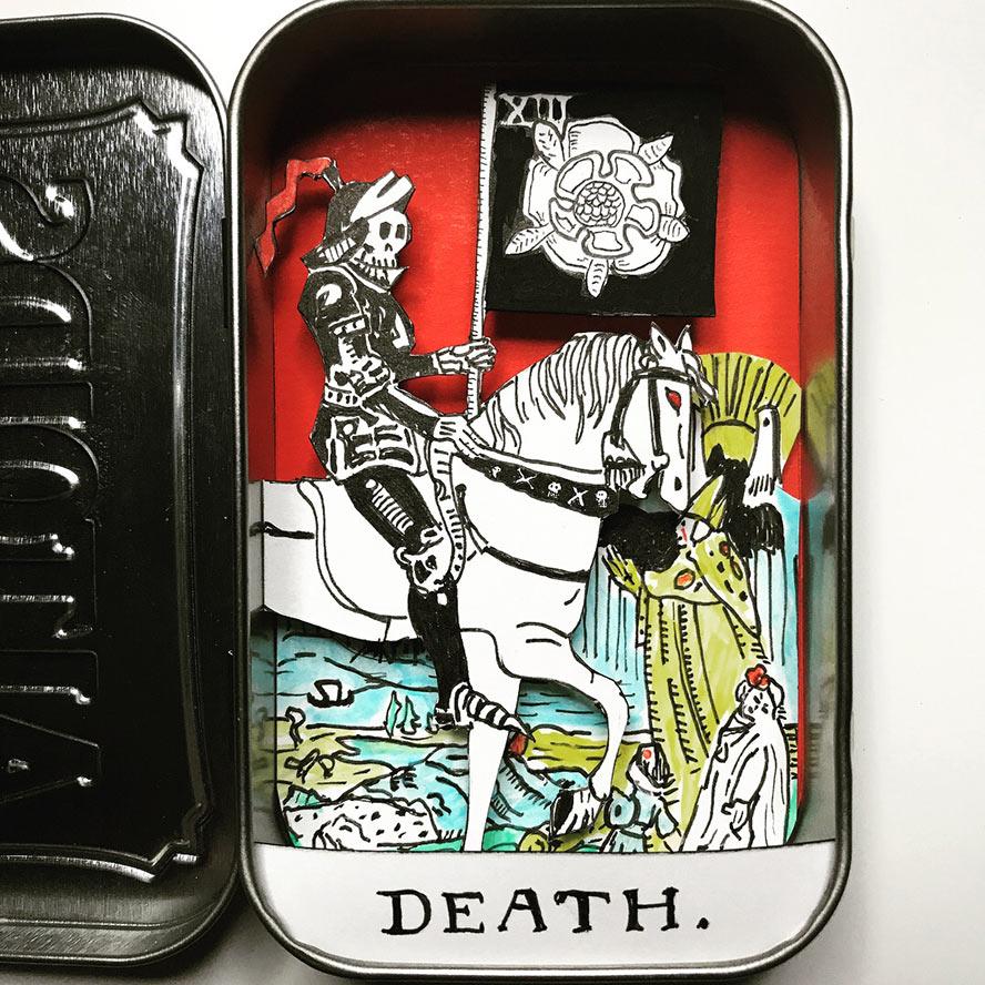 Death Tarot Diorama