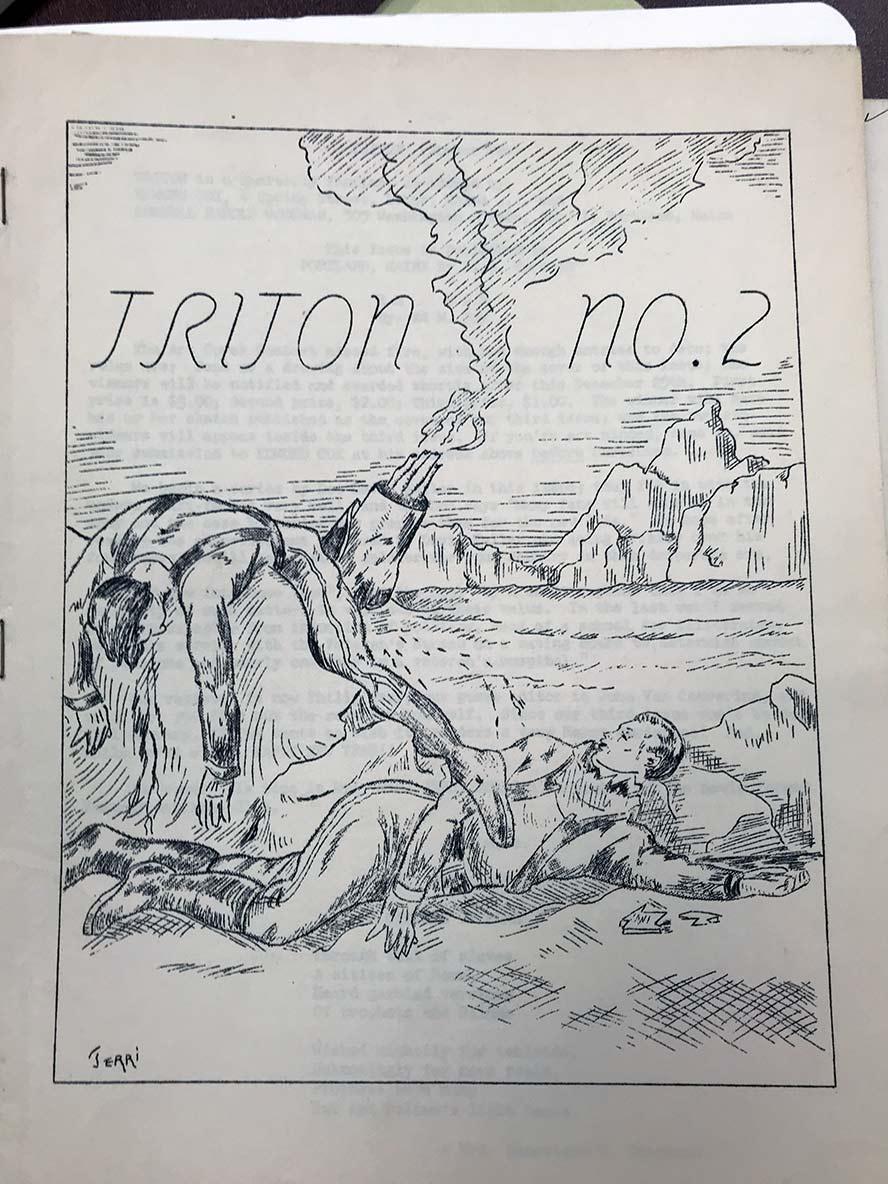 Triton #2 cover