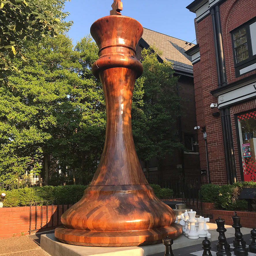 World's Biggest Chess piece