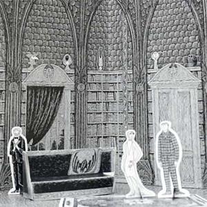 Gorey's Dracula Toy Theatre