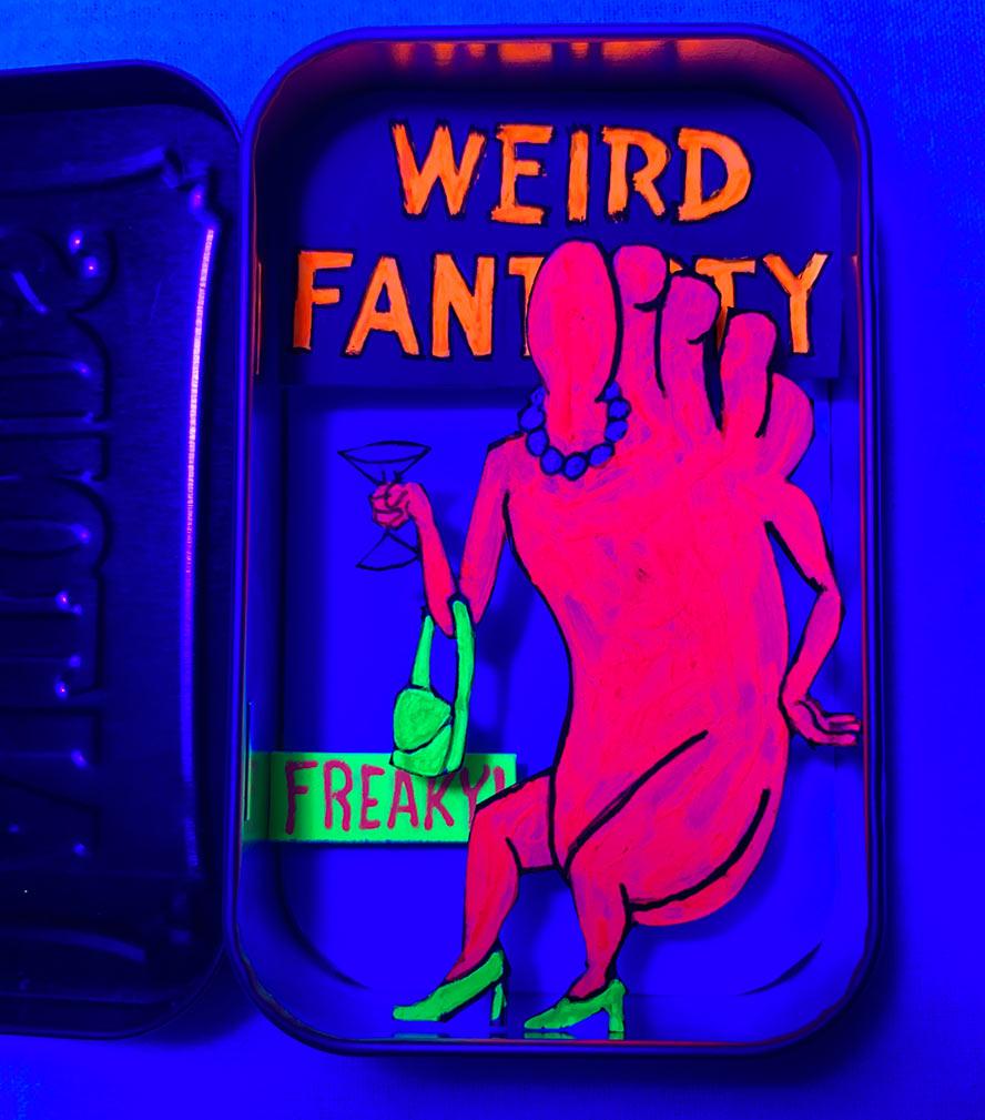 Weird Fantasy 3D diorama