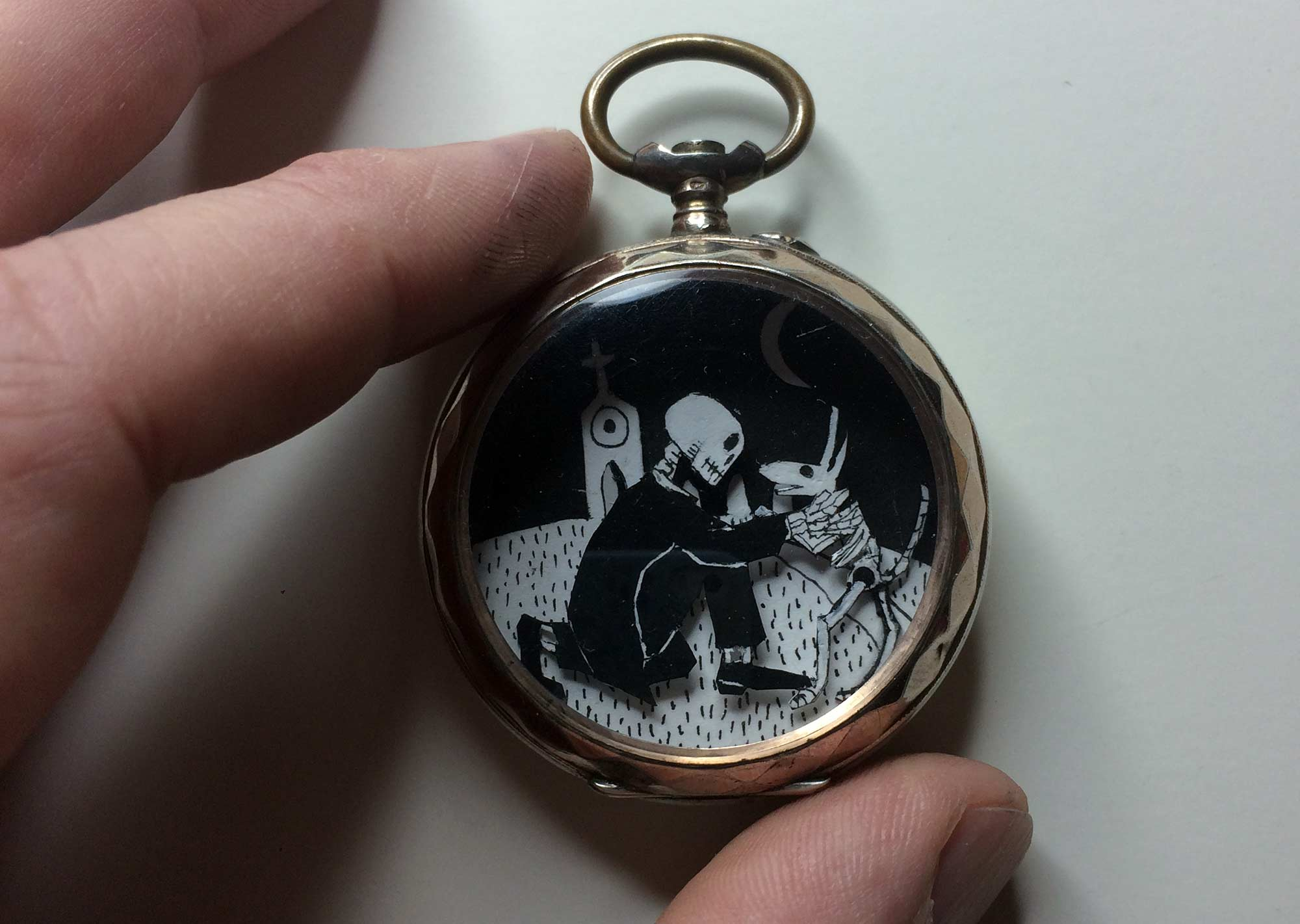 A Reunion (in a pocket watch)