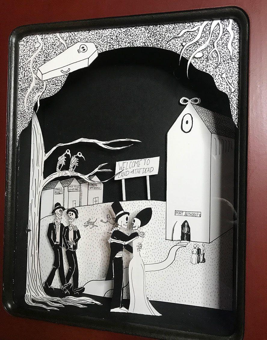 Lower panel detail shot