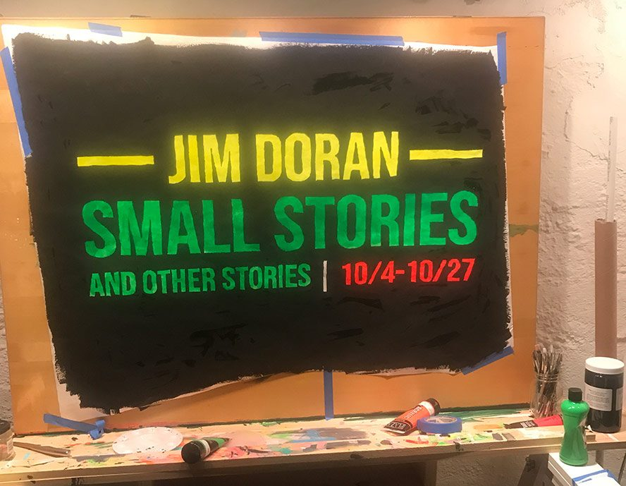 Neon Sign for Small Stories and Other Stories