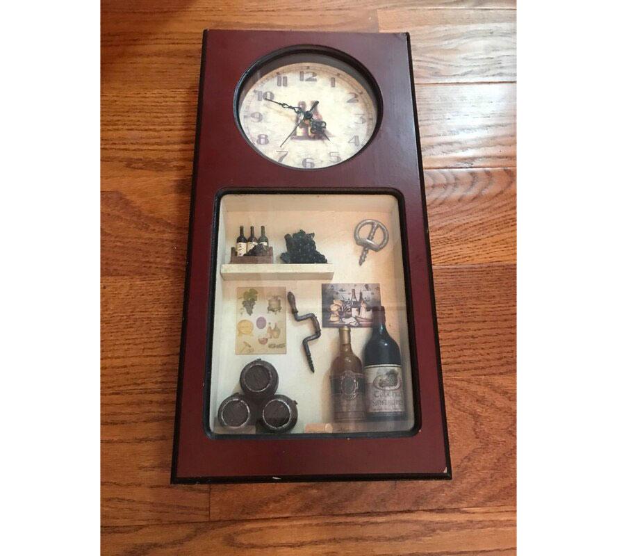 Arister Clock Shadowbox