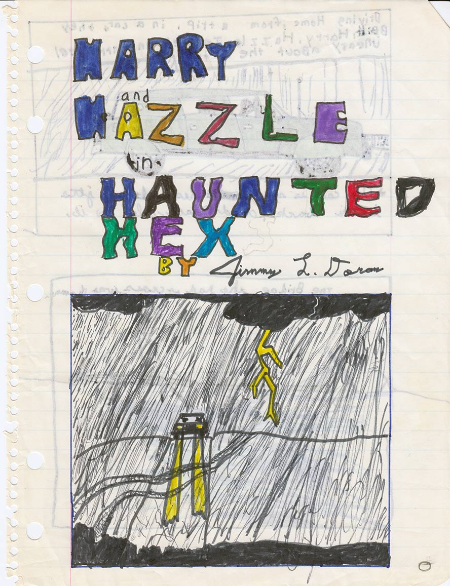 Cover page to comic