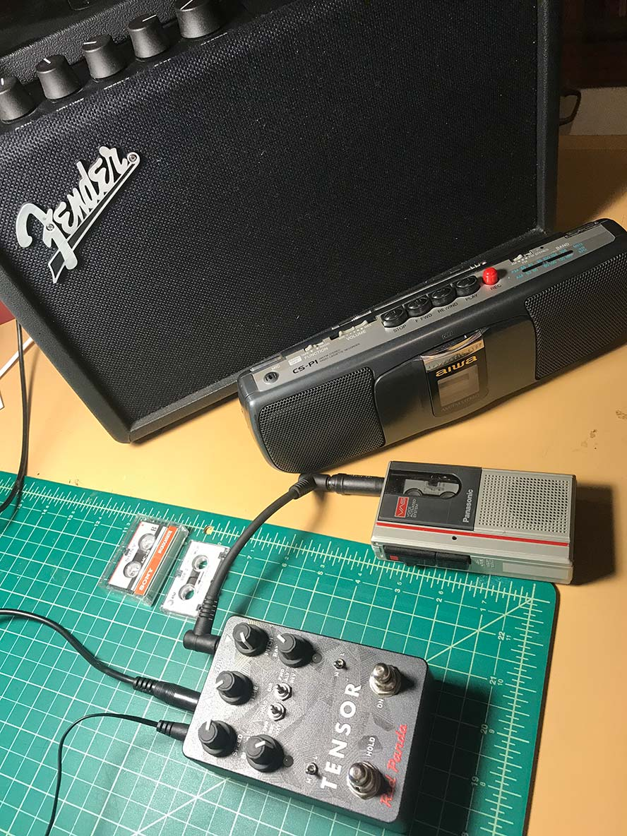 Mini-tape deck