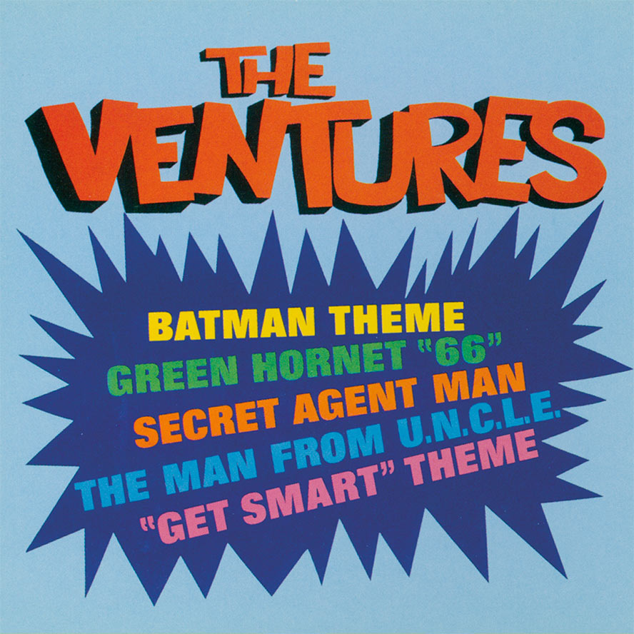 The Ventures Play TV Themes