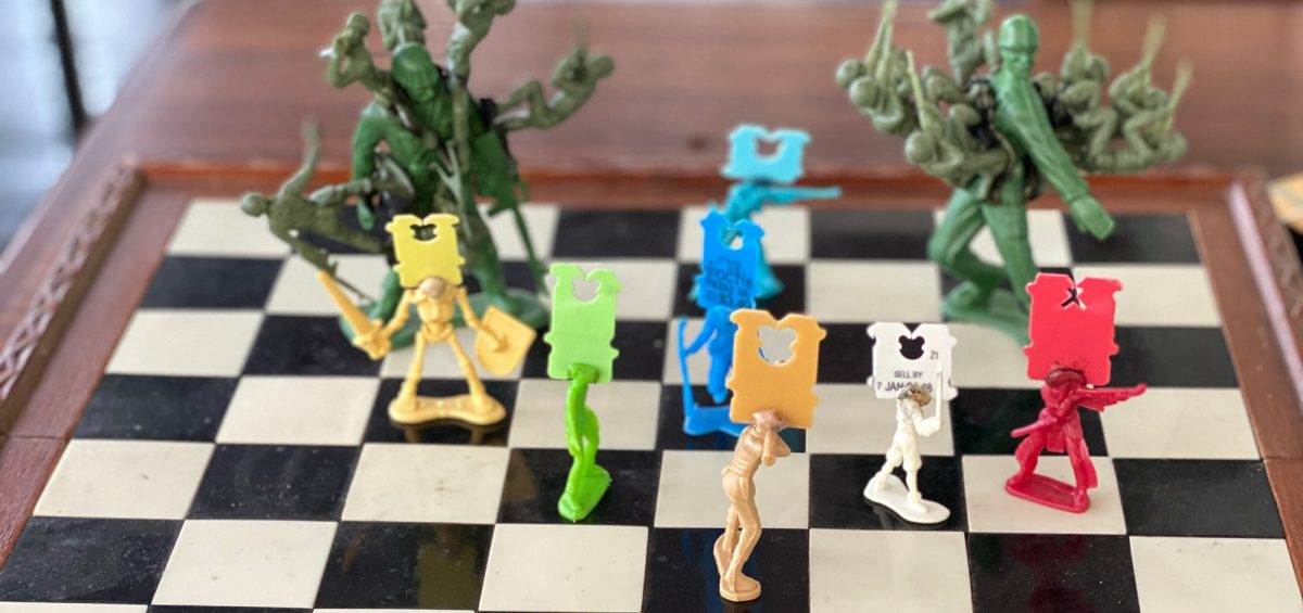 Battle on the Chessboard