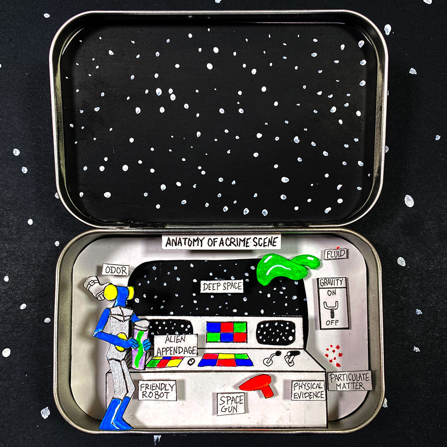 Anatomy of a Crime Scene #8 - outer space