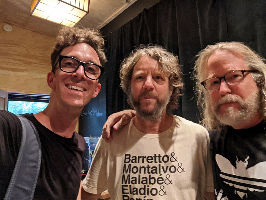 Justin, Billy Martin and me