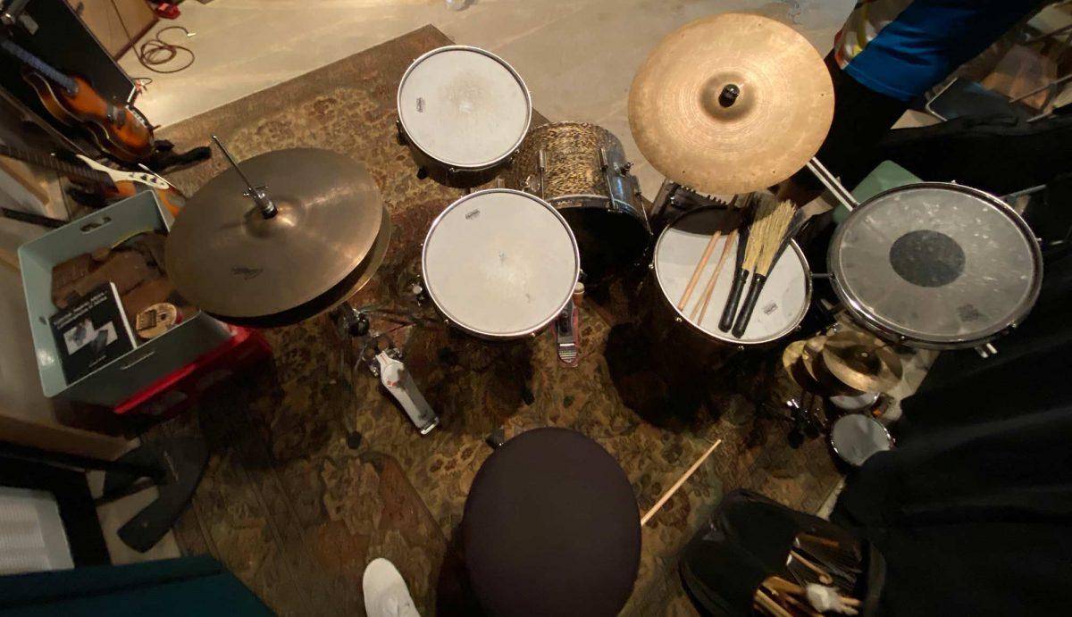 Billy Martin's Drum Set