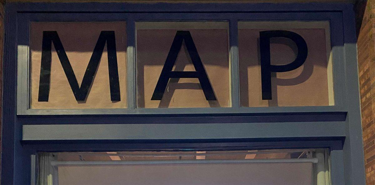MAP (letters in a window)